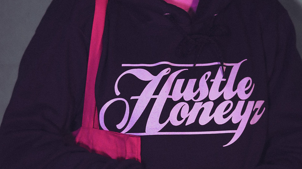 Hustle Honeyz Logo Hoodie
