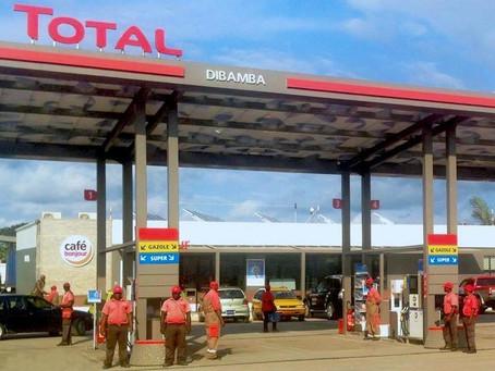 La station TOTAL de Dibamba - Cameroun