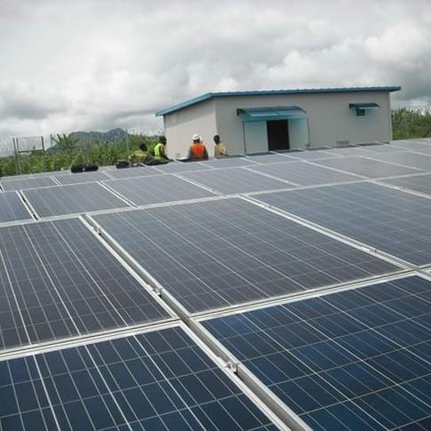 Centrale et mini centrale solaire