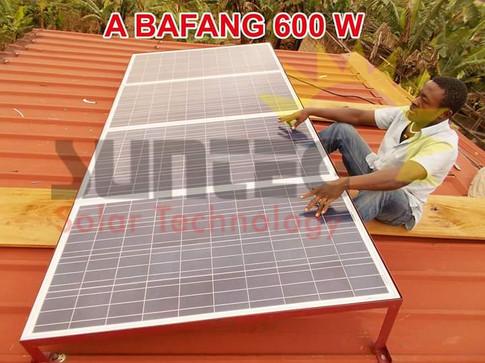 Kit solaire Sunteg kit technology