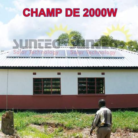 Champ de 2000W
