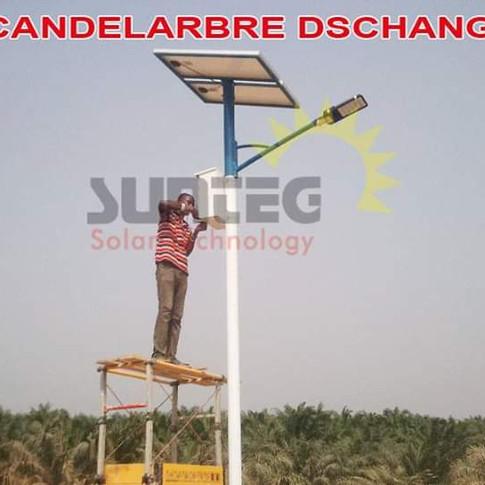 Lampadaire solaire Sunteg