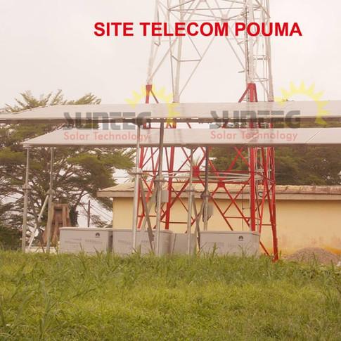 Site TELECOM POUMA - Douala - Cameroun