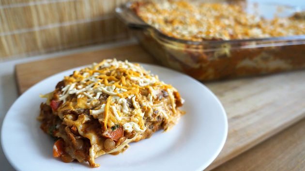 Vegan Lentil Lasagna Veggierose