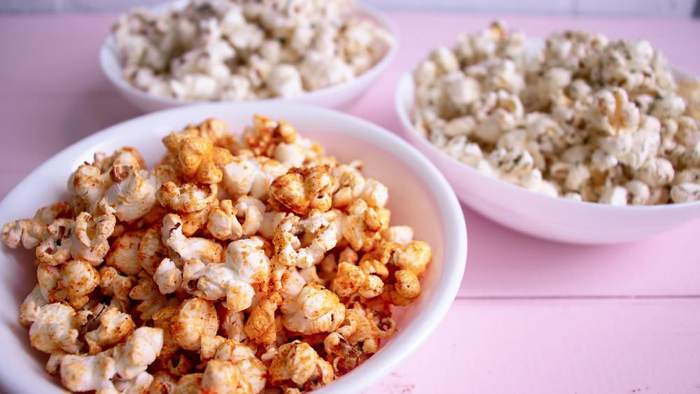 popcorn 3 ways