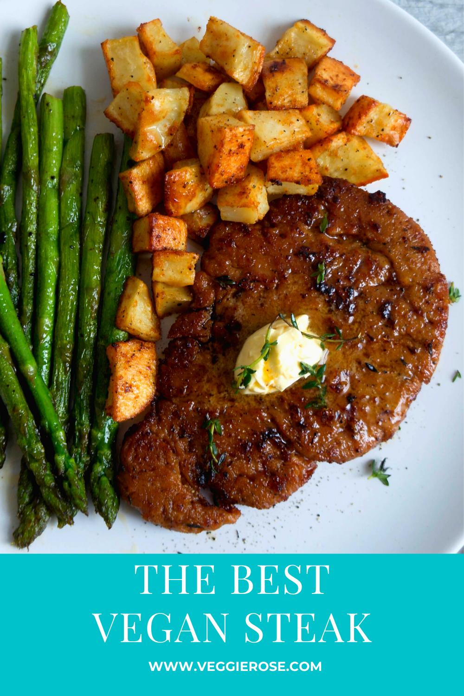 Vegan steak recipe