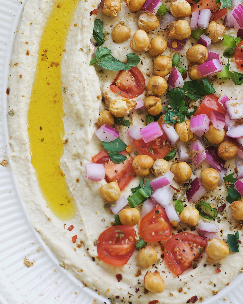 creamy authentic hummus