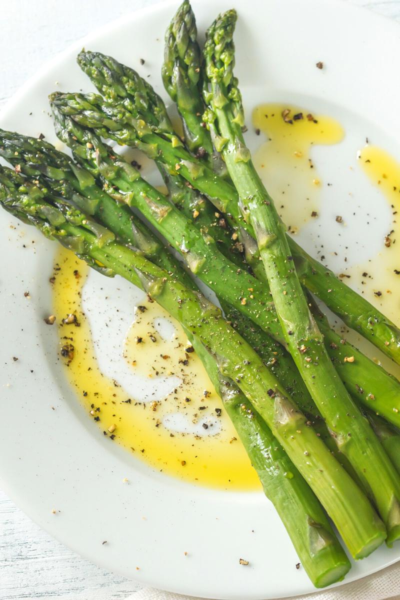 Vegan steak recipe Asparagus