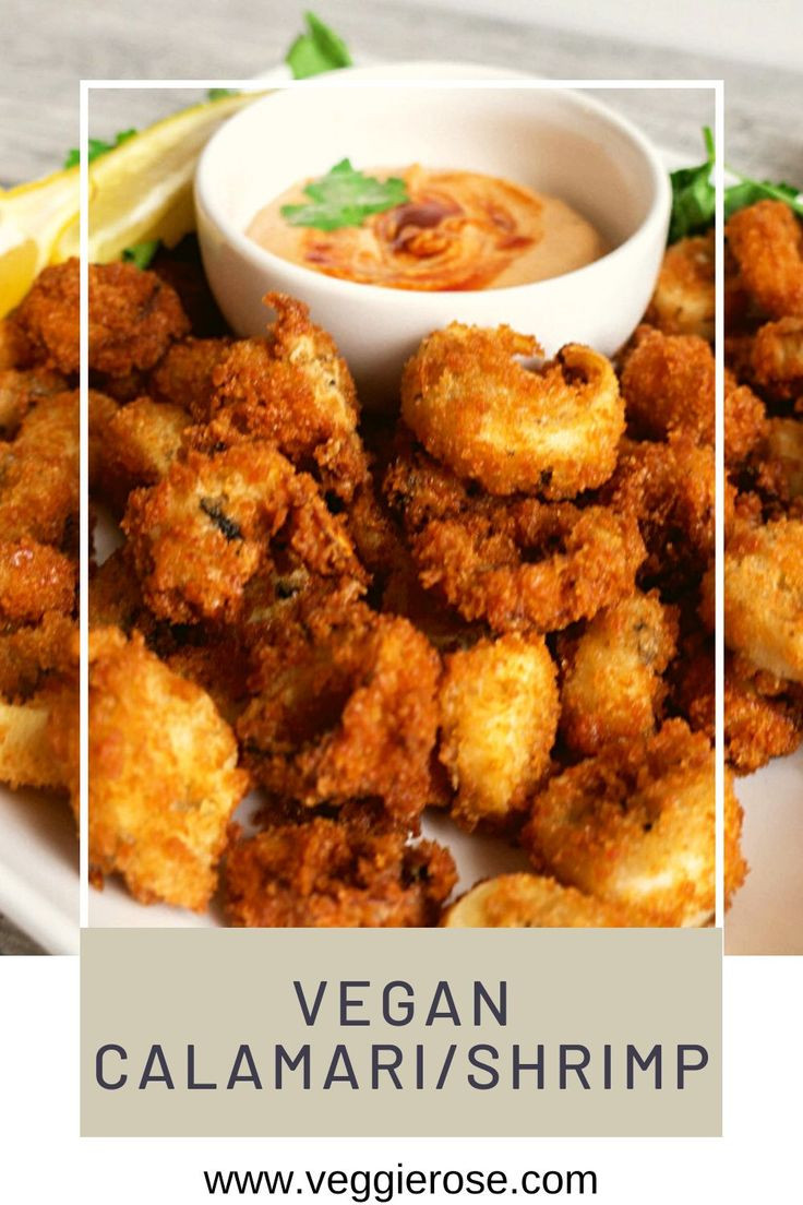 Vegan shrimp calamari recipe