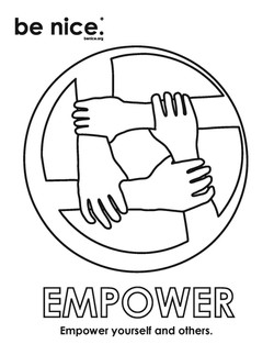 empower coloring page