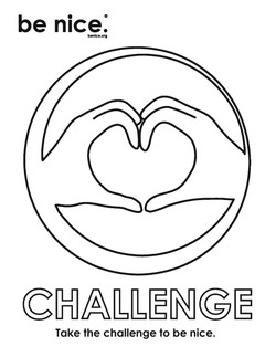 challenge coloring page