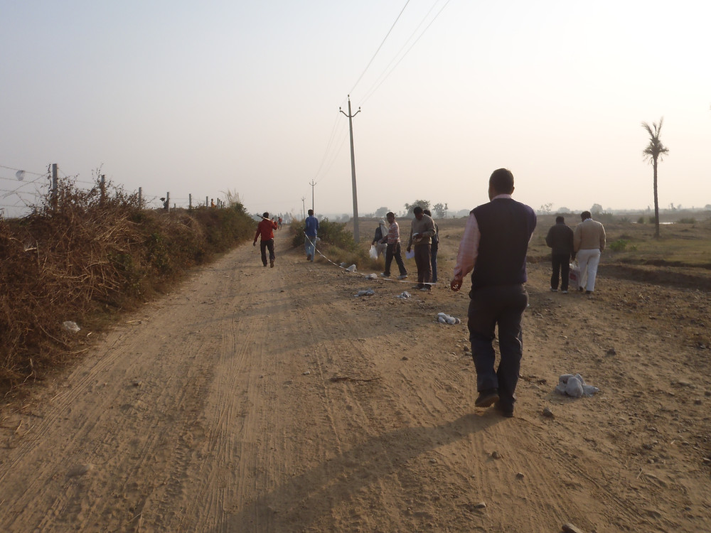 barren land at Aanandaa