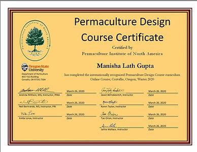 Manisha Lath Gupta Winter 2020 PACE Perm