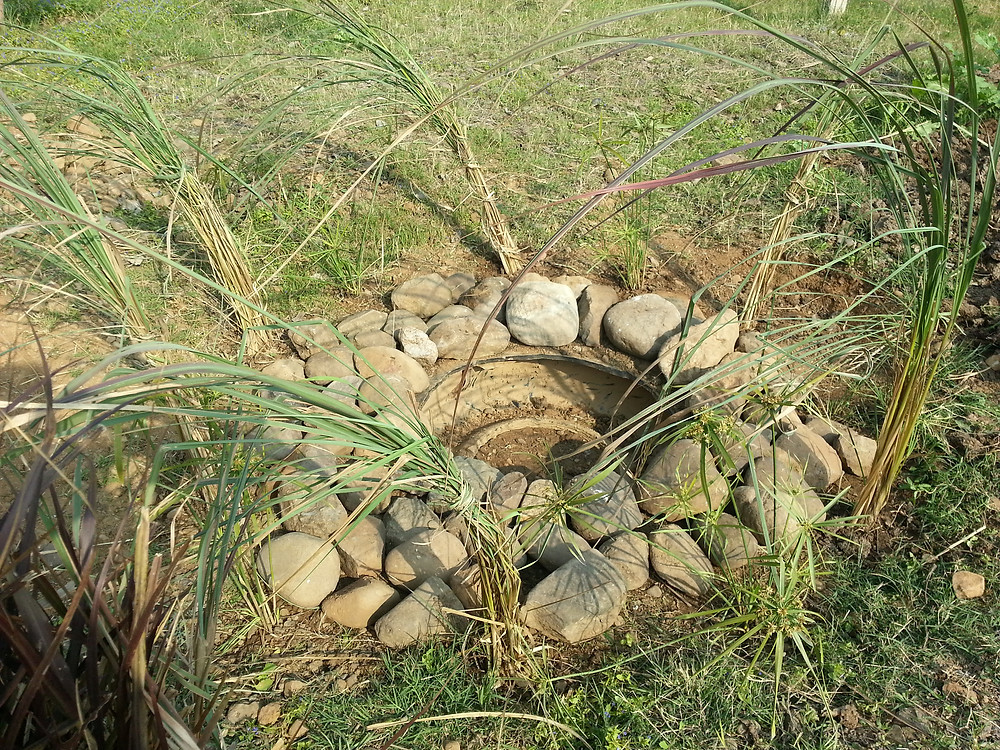 Tyre pond
