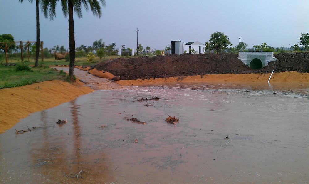 water storage ponds
