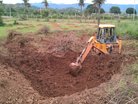 Water Management in Permaculture: Digging a Reservoir