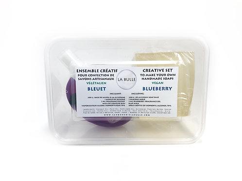Creative set - Glycerin Soap - Blueberry