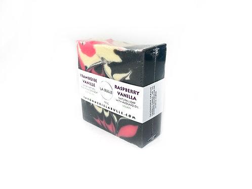 Savon Naturel - Framboise Vanille