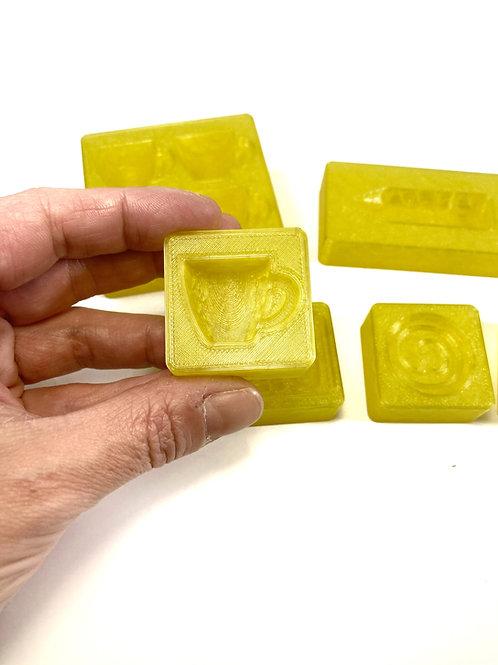 Mini molds for soap doh - Category: Teacher
