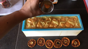 Savon à l'orange