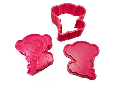 Bath Bomb Mold - Little Monkey