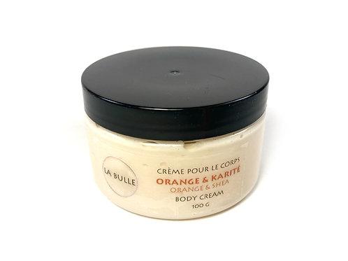 Crème pour le corps - Orange & Karité