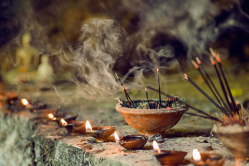 Huile Aromatique -  Encens et Patchouli