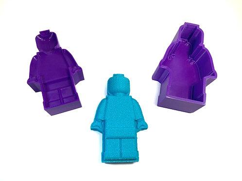 Moule pour Bombe de Bain - Bonhomme Lego