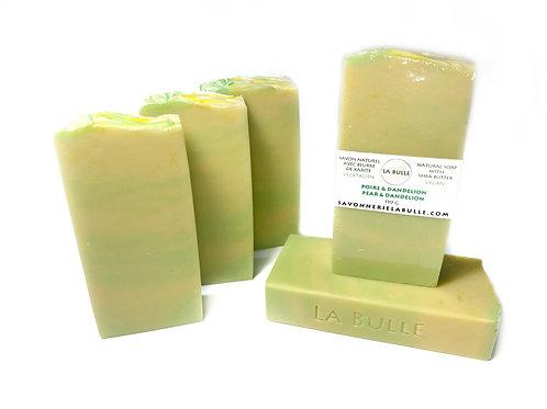 Natural Soap - Pears & Dandelion