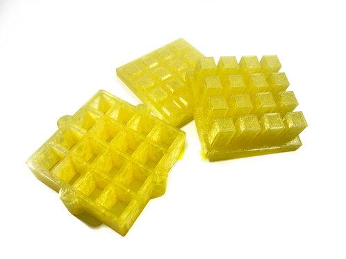 Moule pour Bombe de Bain - Cubes pour insertions (embed) 1 cm