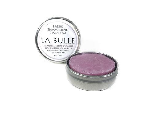 Shampoing solide - Framboise noire & Vanille