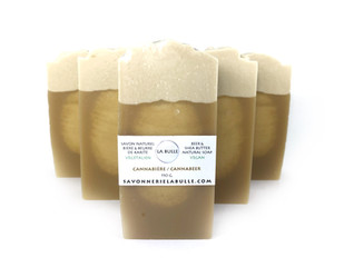 Cannabeer soaps