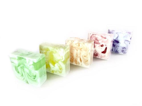 Savons à la glycérine - Collection Fruitée (5 savons)