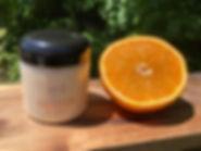 Crème pour le corps Orange
