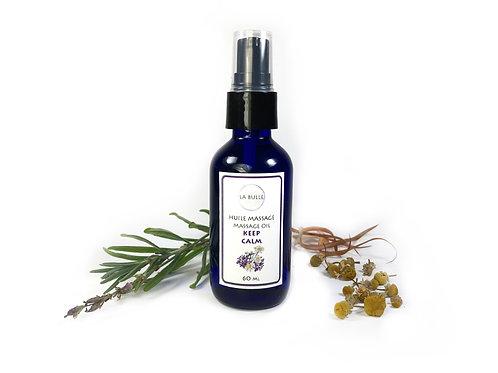 Massage Oil - Keep Calm