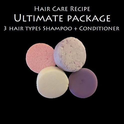 Recettes soin capillaire - Shampoing (3) et Revitalisant (PDF)