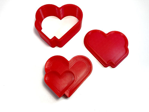 Bath Bomb Mold - Double Heart