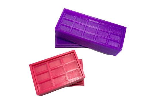 Moule pour Bombe de Bain - Tablette de Chocolat