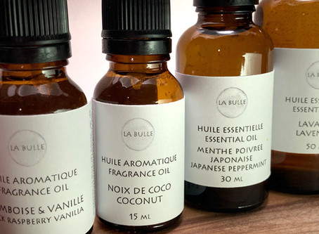 Les Huiles Essentielles et les fragrances