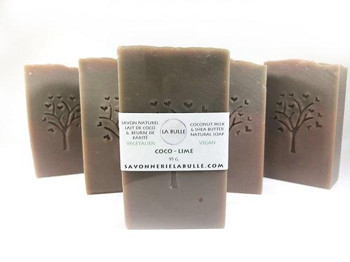 Savon Naturel - Coco-Lime