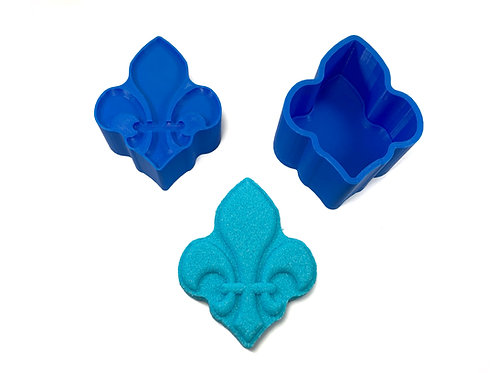 Bath Bomb Mold - Lily flower symbol (Quebec)