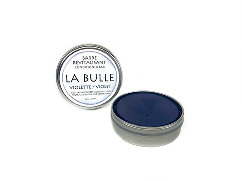 Conditioner Bar  - Neutralizes Yellow and Brassy Tones - Violet