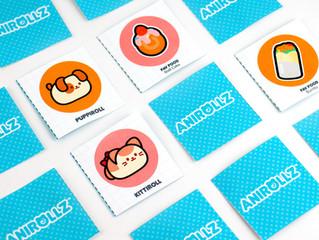 Anirollz Memory Card Game