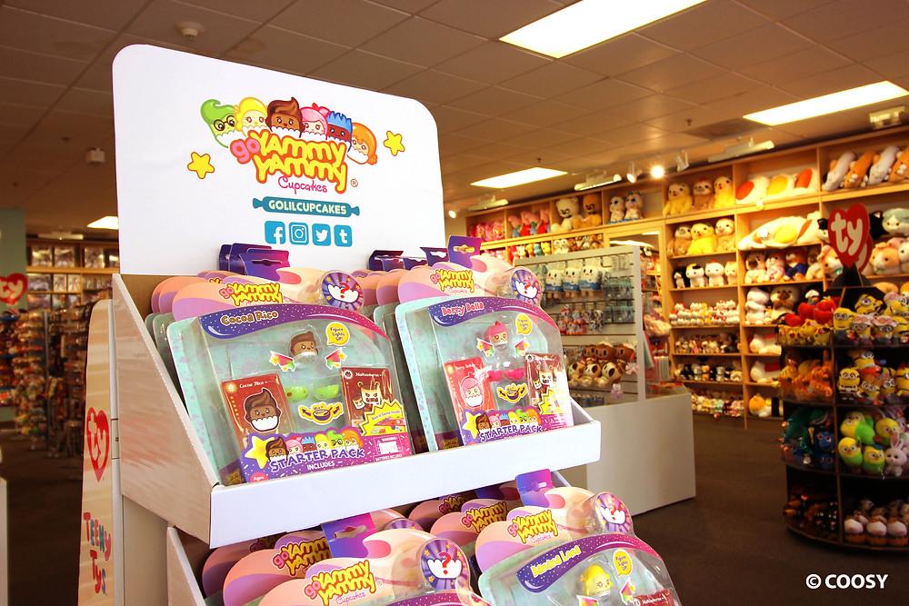 Image of Yammy Yammy Cupcakes display at the Mauya store.