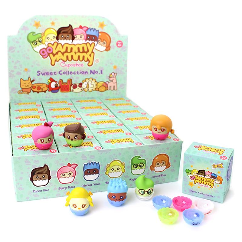 Image of Yammy Yammy Cupcakes boxes.