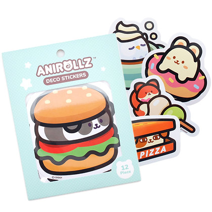 Image of Anirollz Die-cut Stickers