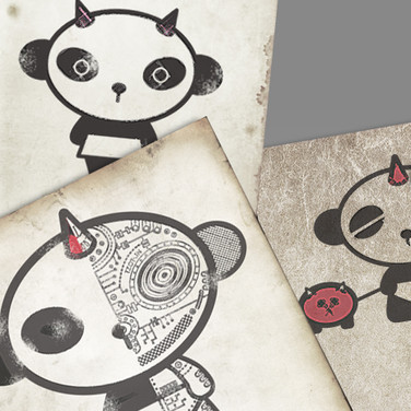 Image of Panda J9 character