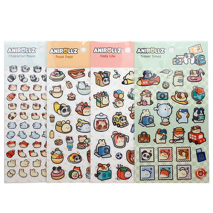 Image of Anirollz Epoxy Sticker Sheets