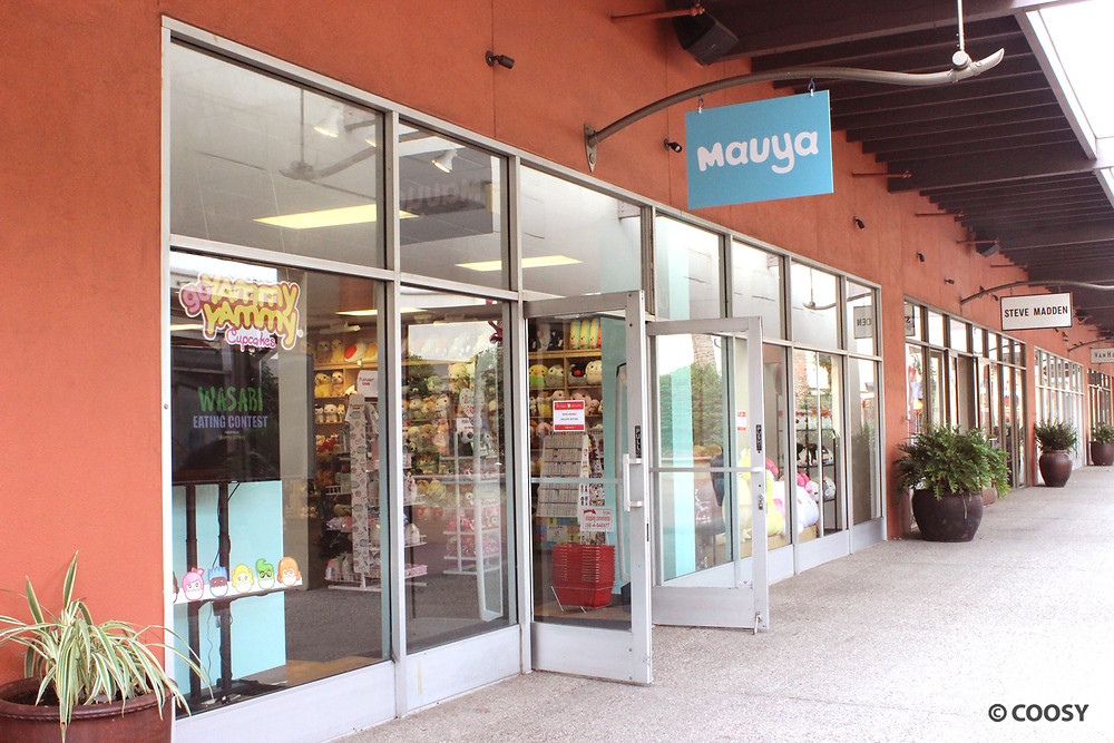 Image of The Mauya storefront at Citadel Outlets.