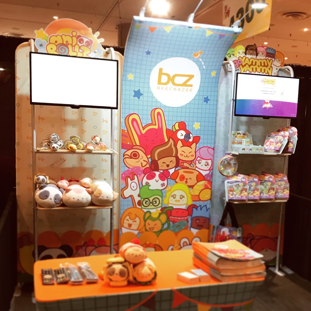 Image of BCZ New York Toy Fair Display